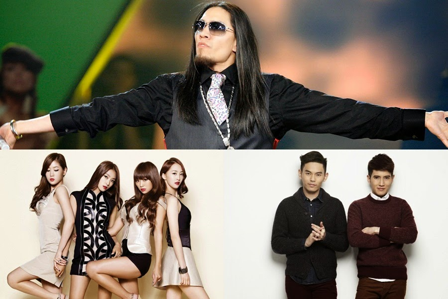 Taboo, Sistar and Fuying & Sam on for Sultan's coronation