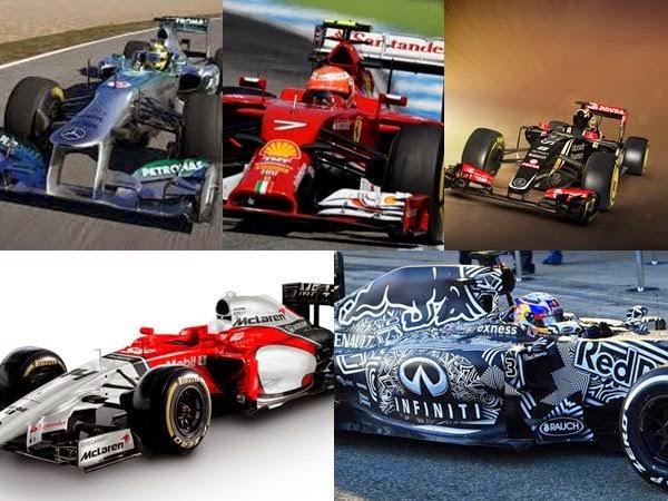 Formula One 2015: See the drivers and their vehicles