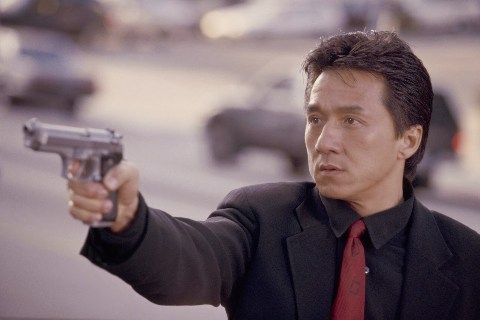 still of jackie chan in rush hour 1998