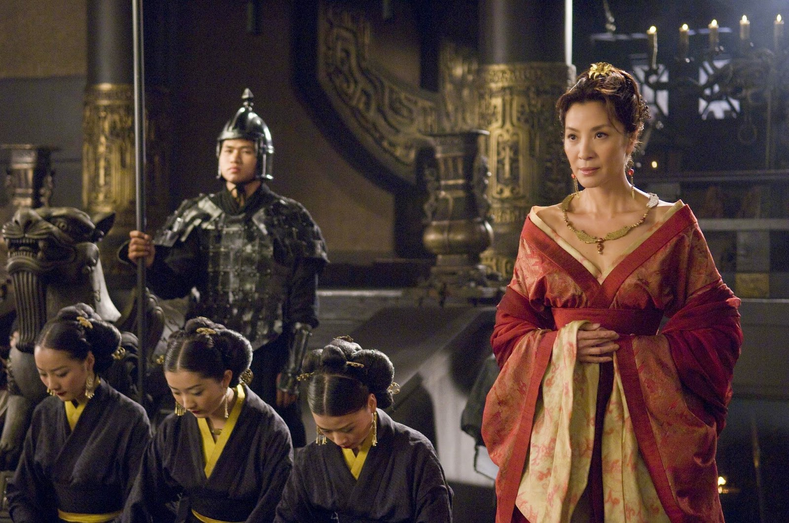 still of michelle yeoh in the mummy tomb of the dragon emperor 2008 large picture