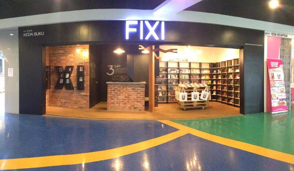 Fixi opens its first brick and mortar bookstore