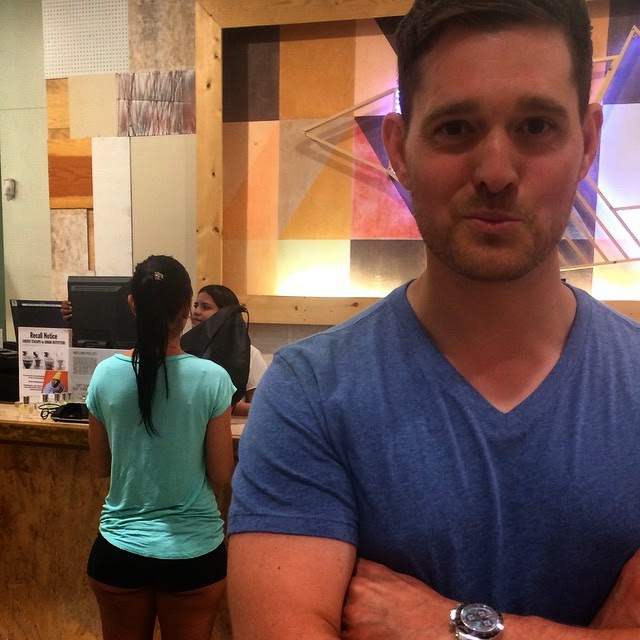Bublé accused of body-shaming a woman on Instagram
