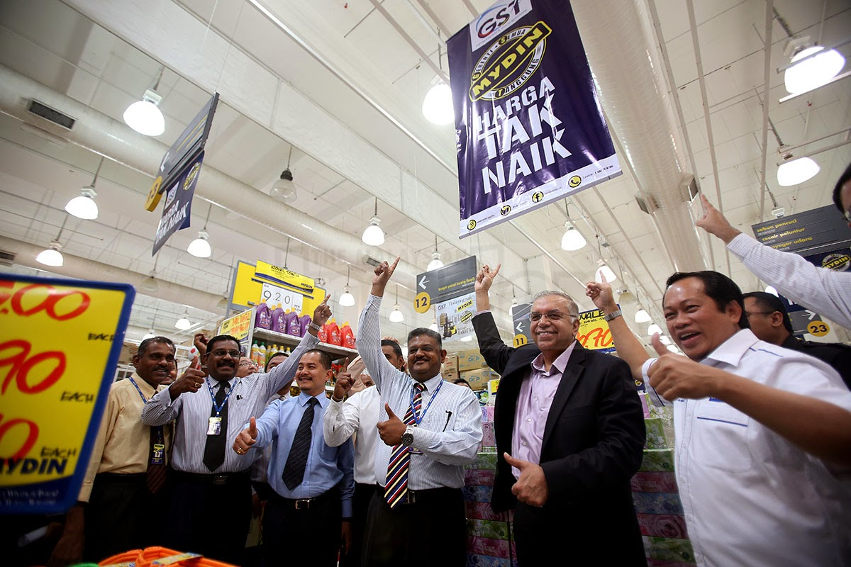 Mydin absorbs GST, prices remain the same