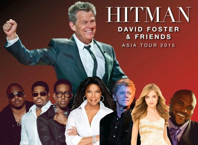 David Foster & friends live at Genting this August