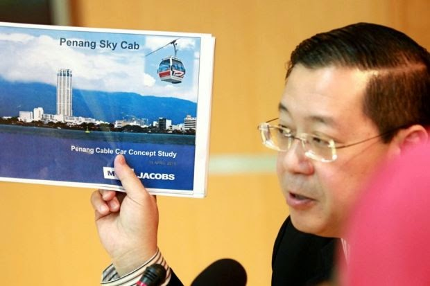 """""""Penang Sky Cab"""" cable car in the works"""