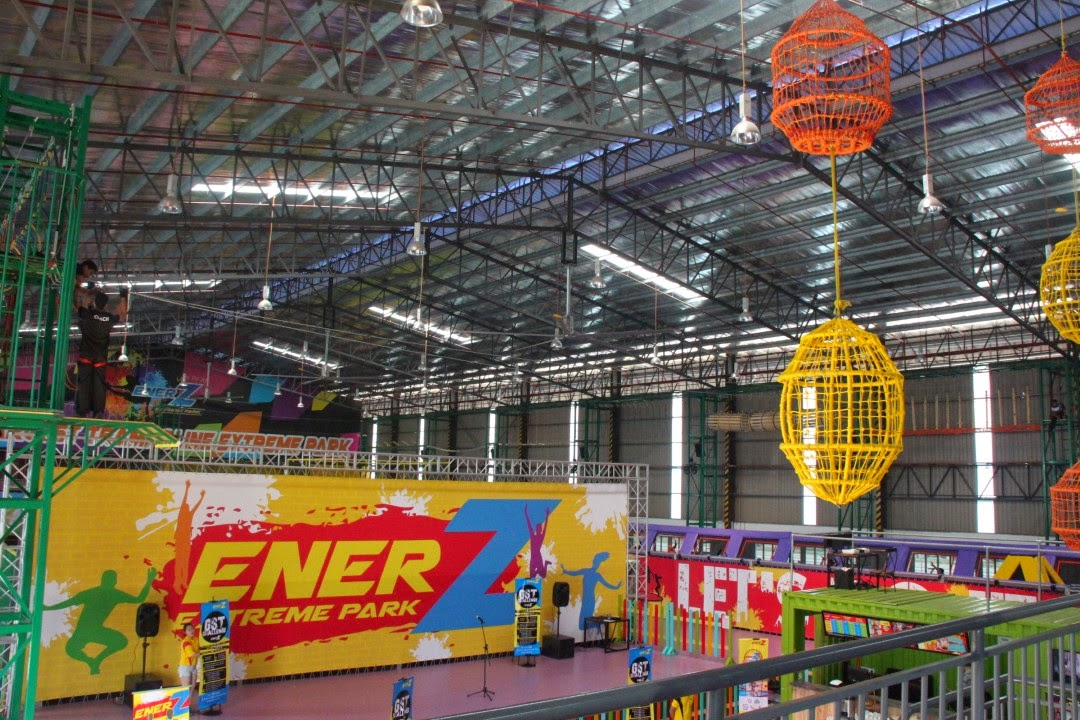 Take the GST Challenge at EnerZ Indoor Extreme Park