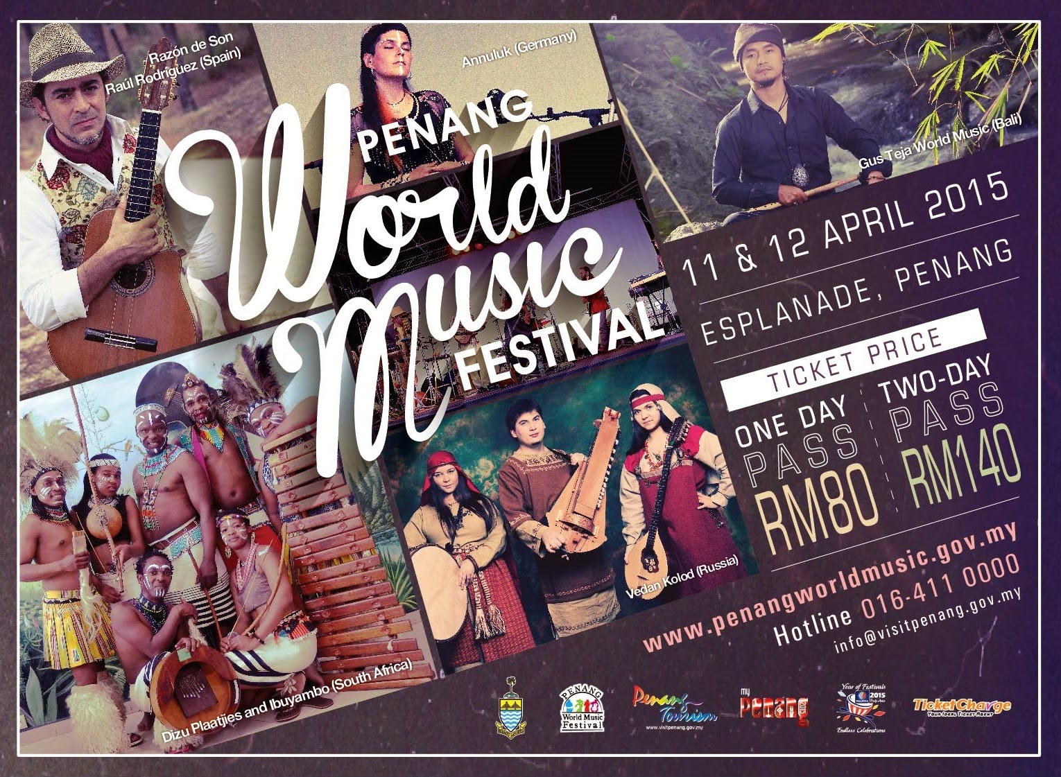 Penang World Music Fest takes place this weekend