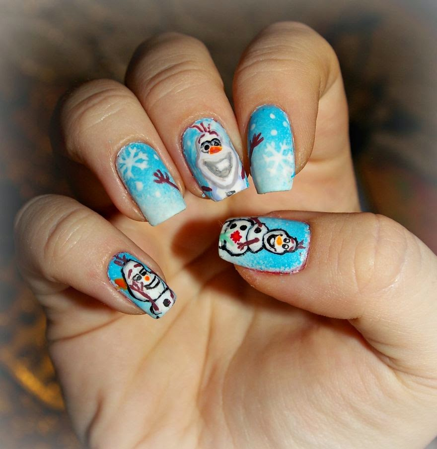Your Favourite Cartoons Movies and Games Turned Into Nail Art1 880