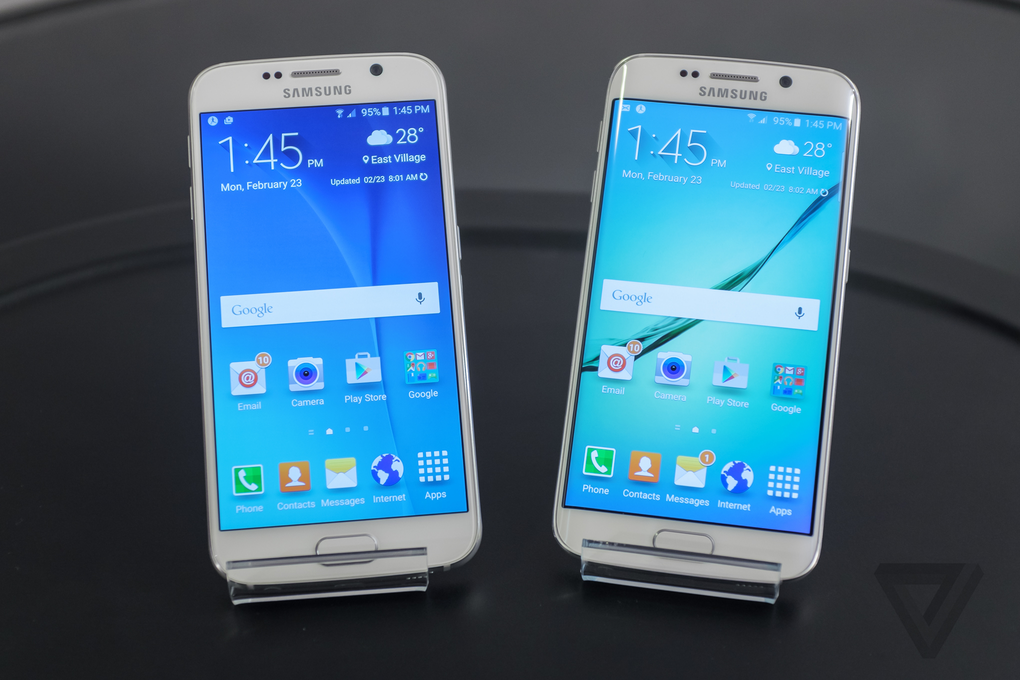 Samsung Galaxy S6 and S6 Edge now on sale!