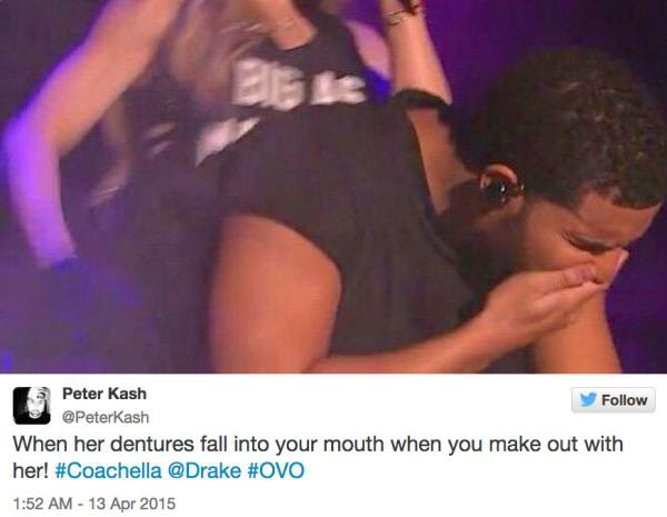 madonna made out with drake at coachella and memes ensued 11