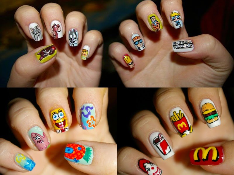A whole new level of detailed nail art