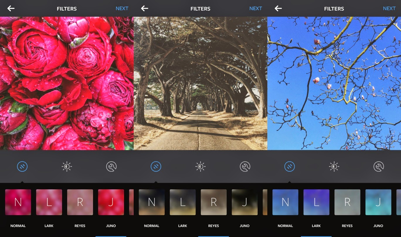 3 new filters and emoji hashtags for Instagram