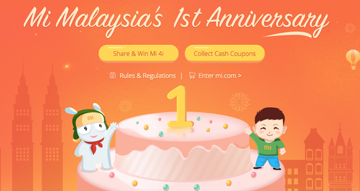 Xiaomi Malaysia offers 90 percent off on anniversary