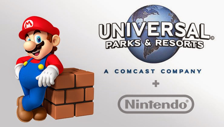 Nintendo to debut attractions at Universal Theme Park