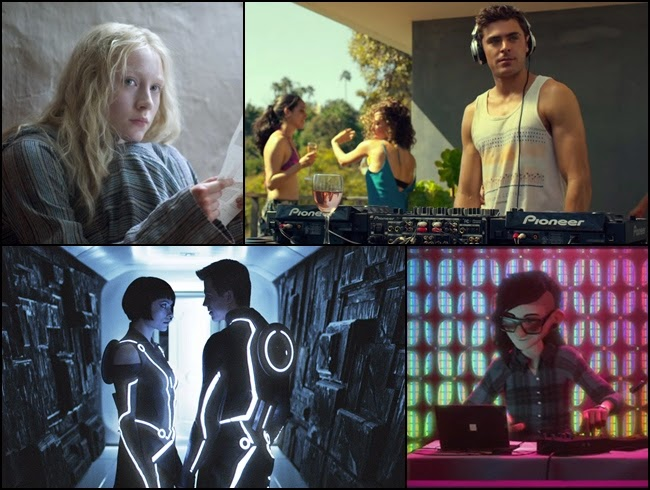 Movies pumped with EDM soundtracks