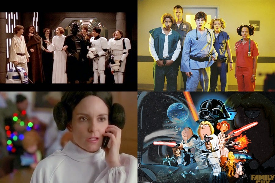 """""""Star Wars"""" references in famous TV series"""