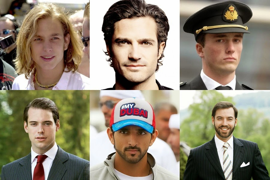 Most handsome real princes and royals in the world
