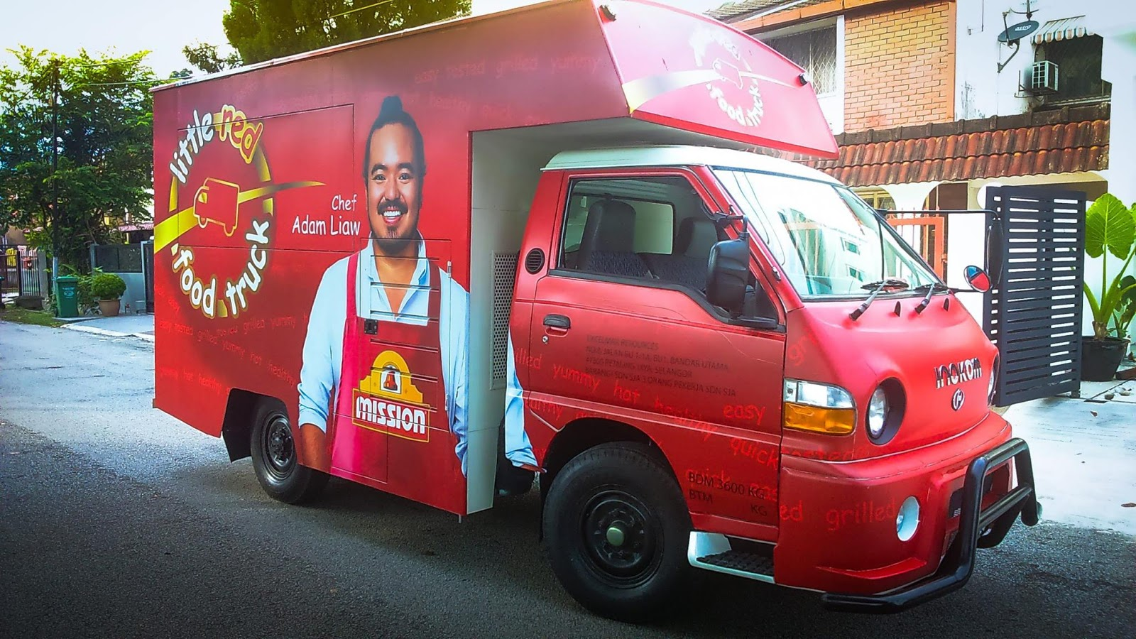 Little Red Food Truck – new food truck in Klang Valley