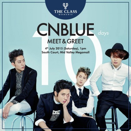 CNBLUE returns to Malaysia for Meet & Greet session