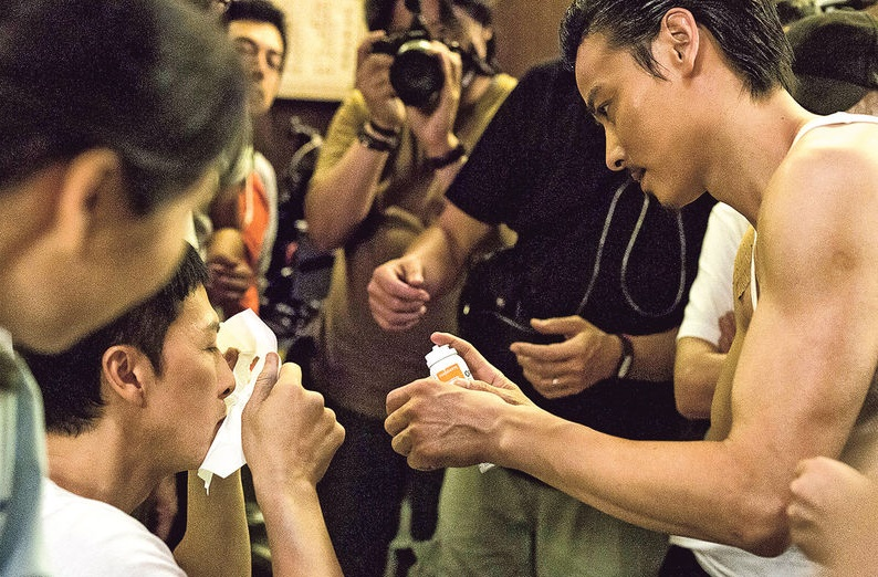 Donnie Yen injures nose while filming fight scene