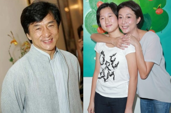 Etta Ng on Jackie Chan: He is not my dad