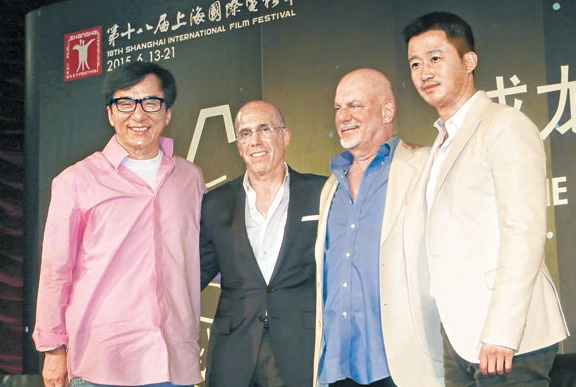 Jackie Chan talks about action stars' sacrifices