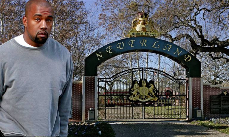 Kanye wants to buy MJ's Neverland as gift for Kim
