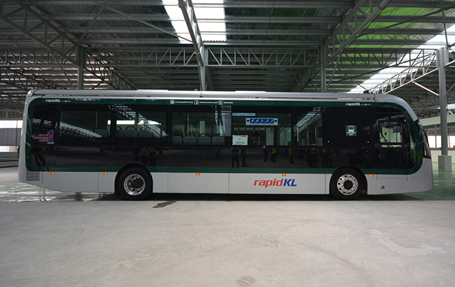 Malaysia's first electric bus service commences