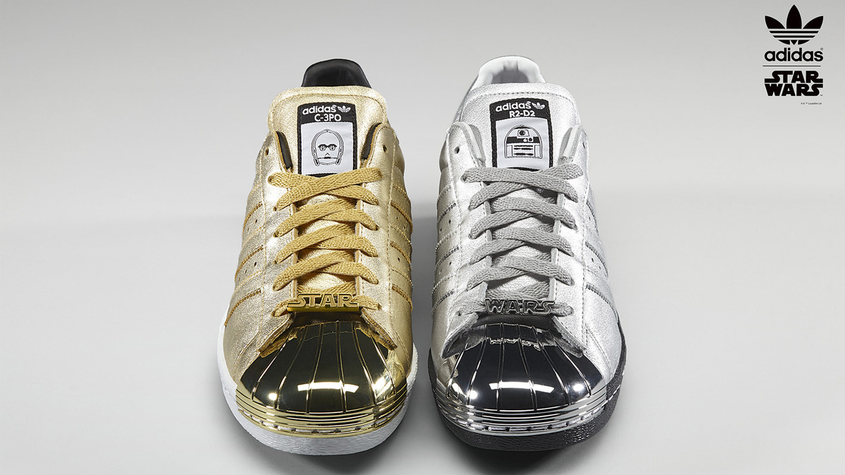 Design your very own Star Wars themed Adidas shoes