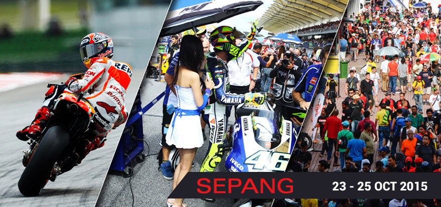 Malaysia Motorcycle Grand Prix takes place in October