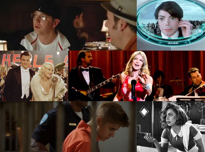 Famous music celeb cameos in movies