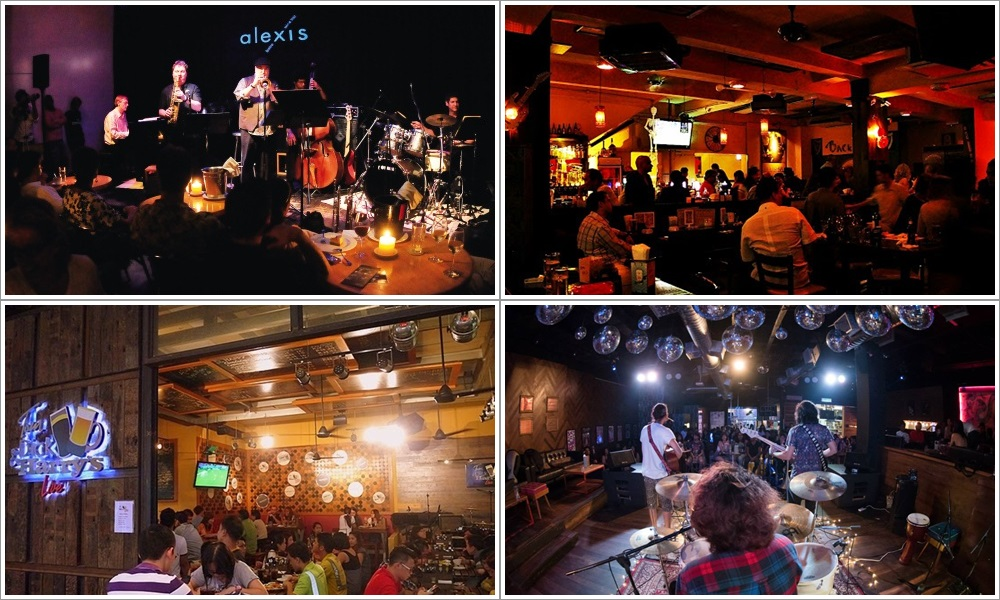 Bars with great live music in Klang Valley