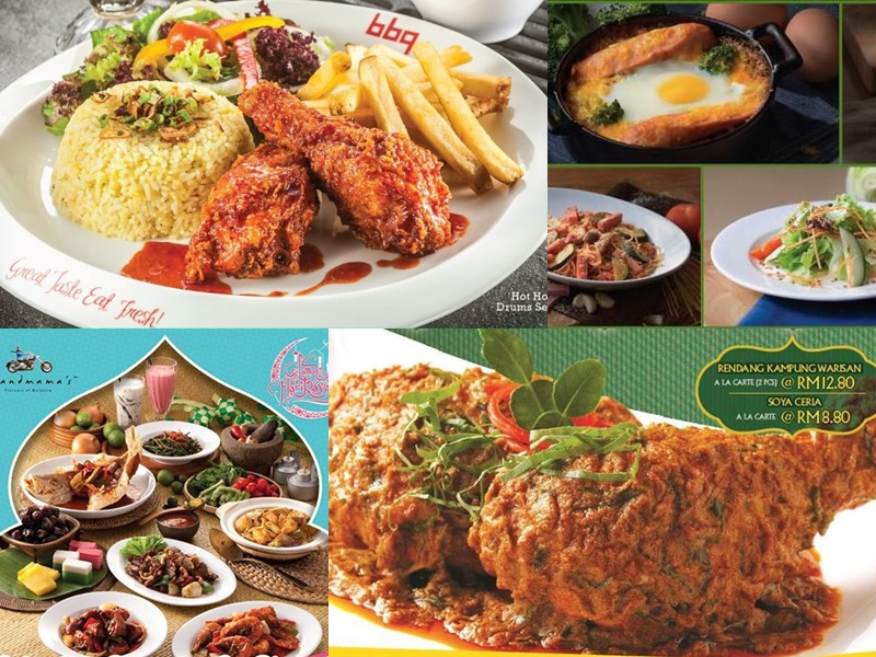 Restaurants with best Ramadhan promotions