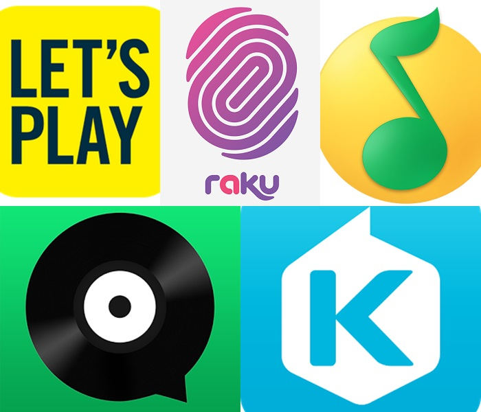 Top 5 Asian music streaming apps