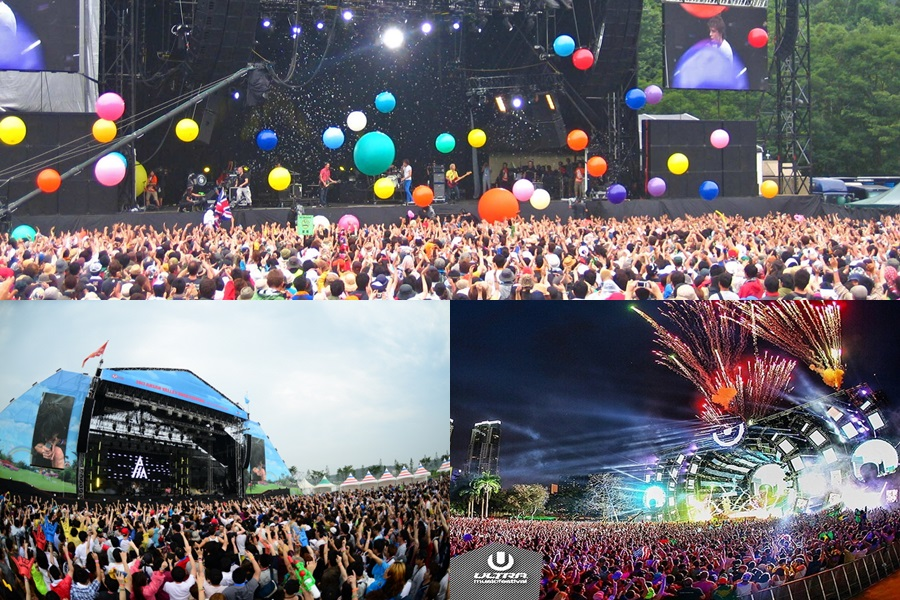 Top 5 upcoming music festivals in Asia 2015