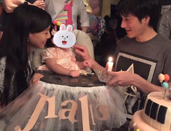 Wang Leehom shares video of daughter's birthday