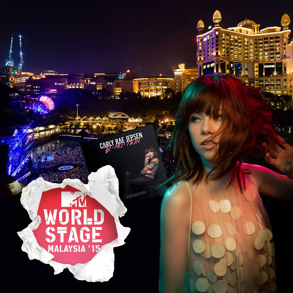 Carly Rae Jepsen joins MTV World Stage Malaysia