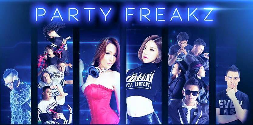 Let's party in Penang with Party Freakz 2015!