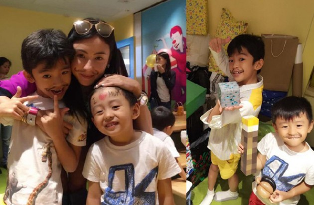 Cecilia Cheung talks about her boys