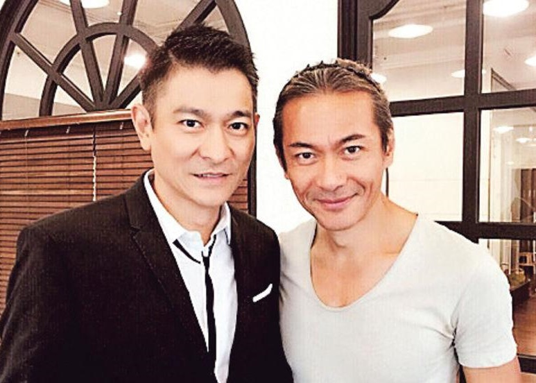 Kong Wah shares photo with Andy Lau