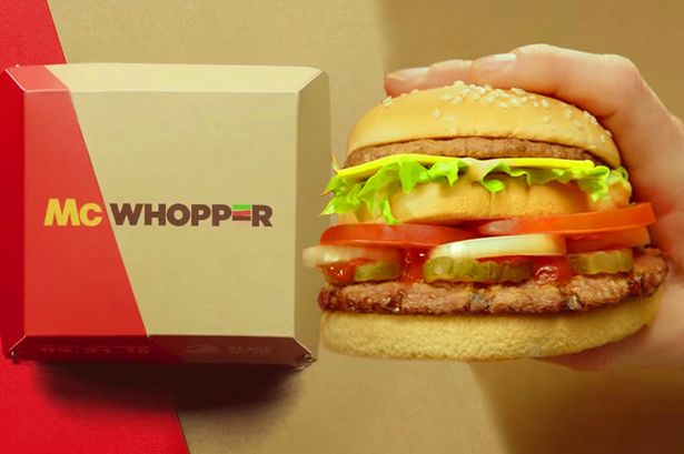 """Burger King and McDonald to form a """"McWhopper""""?"""