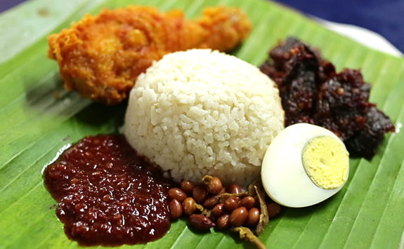 Famous Nasi Lemak delivered to you via Foodpanda