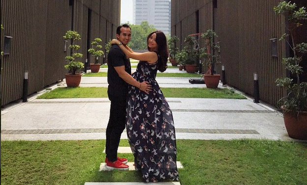 Celebrity host Marion Caunter gives birth to baby boy