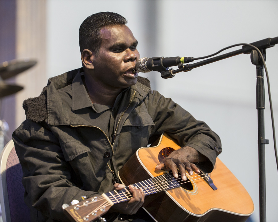 Gurrumul to make live debut in Singapore this October