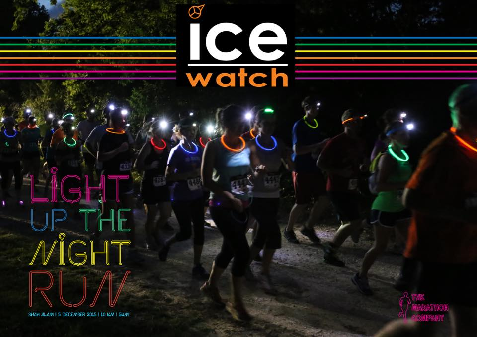 Light up the night with Ice-Watch night run