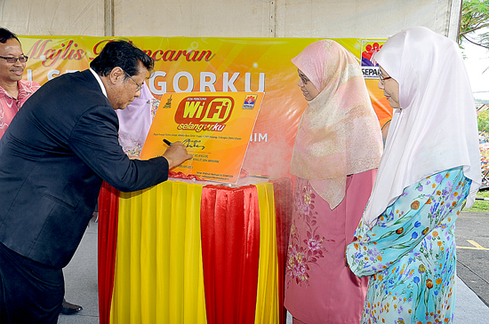 Free WiFi service is now available in Selangor