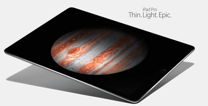 Everything you need to know about Apple's iPad Pro