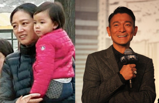 Andy Lau's daughter joins birthday celebration