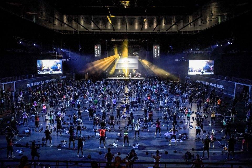 Group workout at inaugural One Live KL