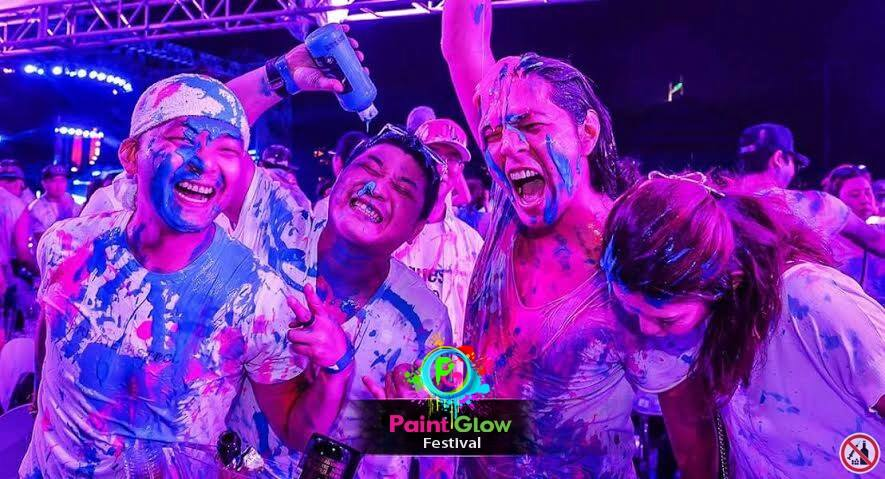 Updated: Immerse yourself in paint and music at PaintGlow Festival
